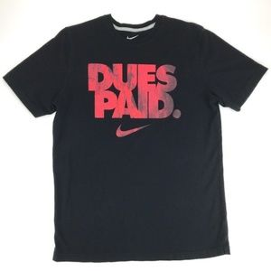 Nike Dues Paid Tee Men's Large